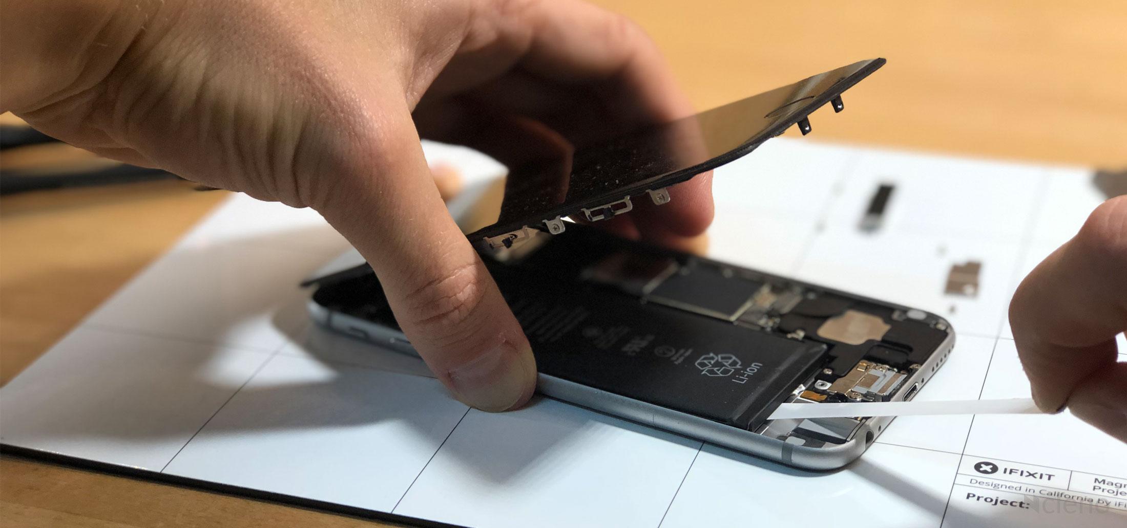 iphone 6 geht einfach aus und zeigt nur apfel